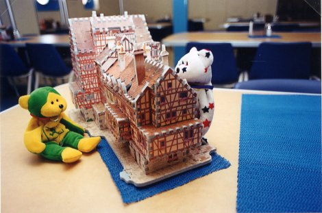 Bears and Gingerbread House