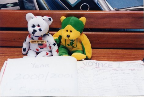 Bears and Voyage Log 2000-2001