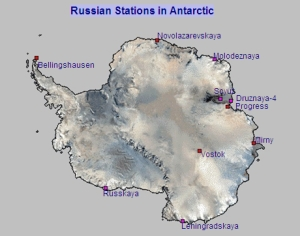 Russian Stations in Antarctica