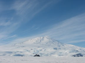 Erebus from Near Cape Evans