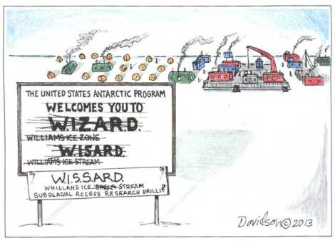 WISSARD Cartoon